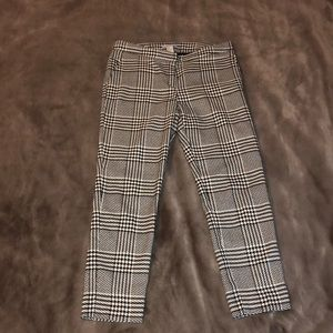 H&M houndstooth patterned pants (worn 3-4 times)